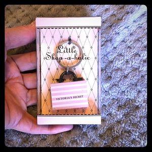 NWT VS Vintage Little Shopaholic Bag Keychain
